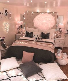 bedroom decorating ideas for teen girls decoration - dream bedroom decor tips to produce a super comfortable teen girl bedrooms. Bedroom Decor Suggestion tip posted on 20190219 Cute Bedroom Ideas, Girl Bedroom Designs, Room Ideas Bedroom, Bedroom Ideas For Small Rooms Women, Teen Room Designs, Bedroom Colors, Budget Bedroom, Design Bedroom, Bedroom Ideas Creative