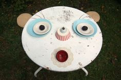 Sabine Timm, table faces