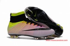 4568234ff Nike mercurial Boots Flyknit construction forms perfectly to your foot for  a sock-like fit
