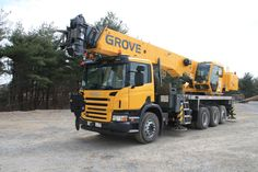 Scania/Grove 540 Big Rig Trucks, Dump Trucks, Running Gear, Vehicles, Crane Car, Truck, Dump Trailers, Running Wear, Cars