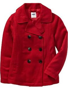 Red Pea Coats - old navy ! $49.00 !