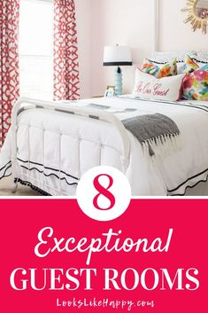 8 Exceptional Guest Rooms + the Essentials You Need to Make Your Guests Feel at Home – Looks Like Happy  #guestroom #guests #bedroom #bedroomdesign #bedroomdecorating #masterbedroom