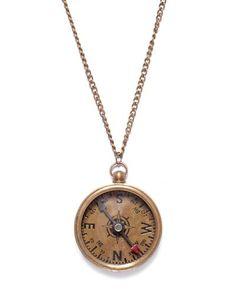 Compass Necklace.