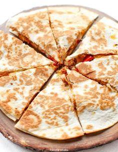 Quesadilla, Tortellini, Bruschetta, Hamburger, Good Food, Food And Drink, Favorite Recipes, Cooking, Impreza