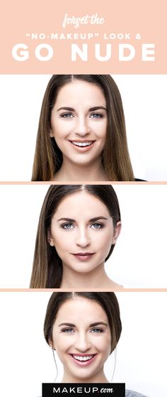 """The beauty of makeup is that one day you can be dramatic with your look and go minimal the next. For the days when you want a natural """"no-makeup"""" look, try this nude look for the perfect natural lipstick."""