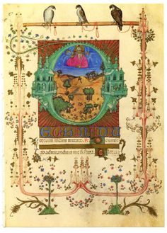 """""""Book of Hours"""" from about 1400 AD."""