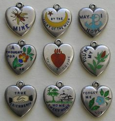 Rebus and Message Charms – World of Eccentricity & Charm Cute Jewelry, Jewelry Accessories, Jewlery, The Bling Ring, Or Antique, Piercings, Swag, Charmed, Antiques