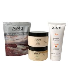 Take a look at this AVANI Dead Sea Cosmetics Dead Sea Spa Body Set today!