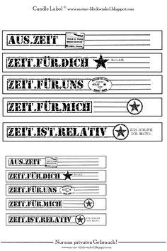 Freebie - Labels