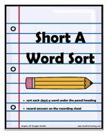 short a word sort