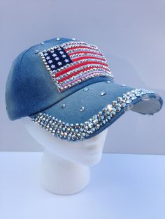 """Set off your fireworks this July 4th wearing """"Old Glory!"""" From www.etsy.com/inhatuation"""
