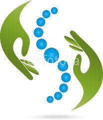 Hände, Heilpraktiker, Orthopädie, Physiotherapie, Logo Massage Logo, Chiropractic Logo, Massage Images, Clover Logo, Clinic Logo, Element Symbols, Logos Cards, Logo Design, Font Art