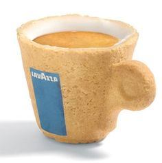 Brilliant! And eco friendly as well! cookie coffee cup