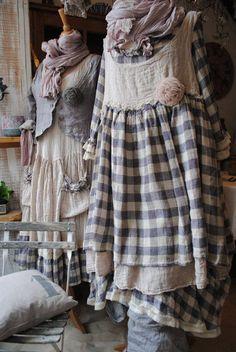 shabby clothes