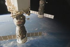 ISS Pass Over North Africa to Ukraine