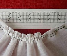 Kim Marie's Embroidery — Great illustrations as seen on the FB group Схеми. Smocking Patterns, Embroidery Patterns, Sewing Clothes, Diy Clothes, Fabric Manipulation Techniques, Doll Shoes, Neck Pattern, Yarn Needle, School Fashion