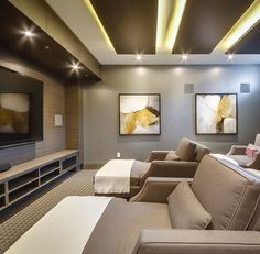 Home Theater, Theatre, Cinema Room, My Dream Home, Sweet Home, Instagram Posts, Cinema Movie Theater, Home Theaters, Movie Theater