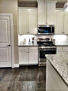 Dallas White Ashen White Granite Countertops By