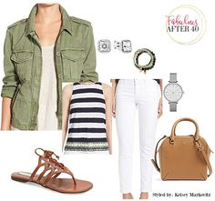 Utilitarian Trend - Build on one key piece: the utility jacket | Fabulous After 40