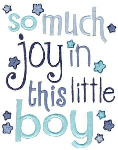 Baby Boys Sentiments Too 5 single machine embroidery design for instant download.