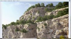 Zbrush - create Your own brushes and paint cliffs on Vimeo