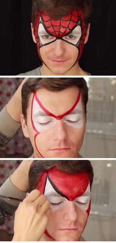 Amazing Spider-Man | DIY Summer Activities for Kids Art | Simple Face Painting Ideas for Kids
