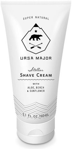 Ursa Major Shave cream  #tube #packaging #white