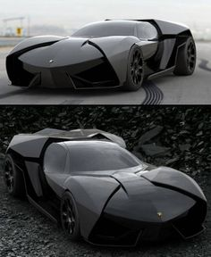Lamborghini Ankonian Concept Slavche Tanevsky has designed a more aggressive version of the famous Lamborghini Reventon....<--No. Bat Mobile.