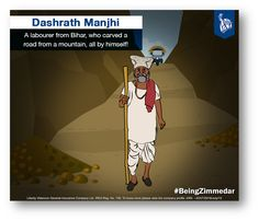 A labourer from the Gehlaur village in Bihar, Dashrath Manjhi had lived a life that was short on finances. He put his knowledge of working at a coal mine to use and carved a 360-feet-long, 25-feet-and 30-feet-wide road through the hills. While it took him 22 years to complete the task, the end result was something he was immensely happy about. Making life easier for his fellow villagers, Dashrath Manjhi, or Mountain Man, as many called him, passed away in 2007, at the age of 73…