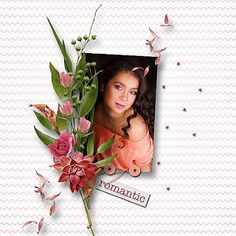 RAK for a friend Polja ♥ Roses for my Valentine a gift from Lara´s Digi World Roses, World, Scrapbooking, Gifts, Shop, Art, Art Background, Presents, Pink