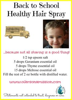 Healthy Hair Spray w