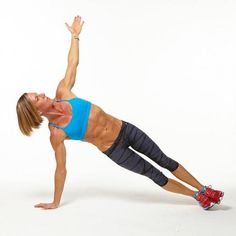Plank Challenge: Triceps Push-Up with Rotation