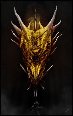 Smaug & Bilbo Baggins - The Hobbit - Andy Fairhurst The Crow, Fire Dragon, Dragon Art, Smaug Dragon, Dragon Tales, Hobbit Art, The Hobbit, Tatouage Smaug, Sailor Jerry