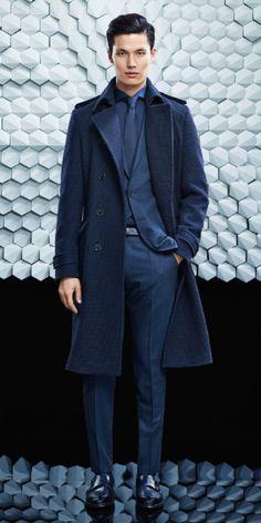 Hugo Boss FW15.  menswear mnswr mens style mens fashion fashion style campaign hugoboss lookbook