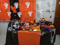 Mesa de Halloween / Halloween table