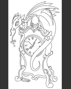 New captive dragon line art. #workinprogress #dragonpainting #dragon #dragonart #fantasyart #fantasy #art #painting #drawing #draw #picture #artist #sketch