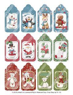 Holiday Gift Tags, Christmas Tag, Simple Christmas, Vintage Christmas, Christmas Quotes, Christmas Crafts For Adults, Xmas Crafts, Jingle All The Way, Christmas Printables