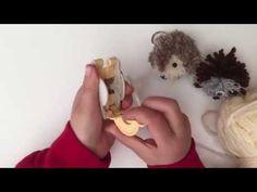 Hedgehog Pom Pom Craft - easy and fun!