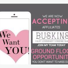 sign up for $1 until June 15 at mybuskins.com/#RetaLeong use referral code RetaLeong