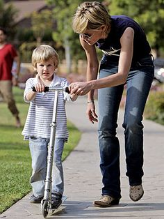 Sharon Stone and son Laird Vonne