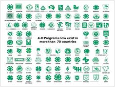 #4H programs exist in more than 70 Countries!