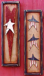 Free country crafts projects. Craftown has 1000's of free pattens and instructions. This one is for an Americana Accents wood craft.