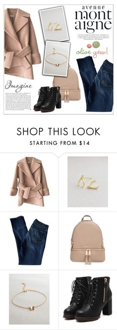 """""""Oliveyewjewelry"""" by water-polo ❤ liked on Polyvore featuring Carven, 7 For All Mankind, MICHAEL Michael Kors, Avenue, Kershaw, polyvoreeditorial, handmadejewelry and oliveyew"""