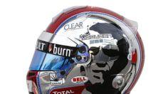 "Romain Grosjean's tribute to a Motorsport figure, bike lover, actor and film director; ""The King of Cool Steve McQueen."