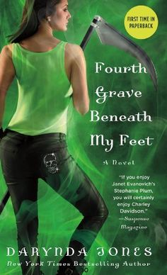 Fourth Grave Beneath My Feet (Charley Davidson Series) by Darynda Jones  ~~  Paranormal Mystery  ~~  On Sale for $3.99!!  (04/06)