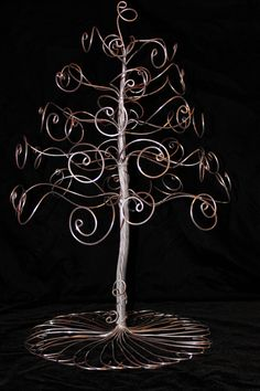 Jewelry Organizer Tree Display Stand Large Silver 35 hooks-LARGE SIZE. $55.00, via Etsy.