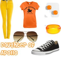 """""""Daughter of Apollo-Camp Half Blood"""" by michelle-altstaetter ❤ liked on Polyvore"""