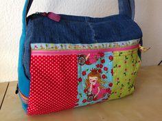 Zylindertasche von vorne #frühstückbeiemma  #farbenmix  #taschenspieler3sewalong Taschenspieler
