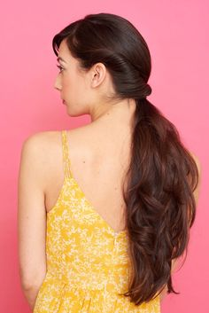 Elegant and efficient. side pony with a twist. Braided Hairstyles Updo, Easy Hairstyles For Long Hair, Formal Hairstyles, Wedding Hairstyles, Updo Hairstyle, Wedding Updo, Braided Updo, Hairdos, Updos