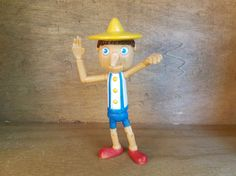Pinocchio doll  macdonald toys  von TheVintageCinderella auf Etsy